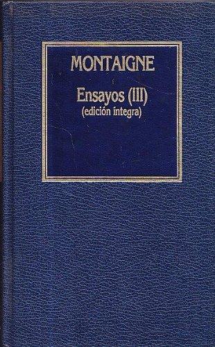 9788475305288: ENSAYOS COMPLETOS III