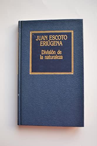 9788475308340: DIVISION DE LA NATURALEZA