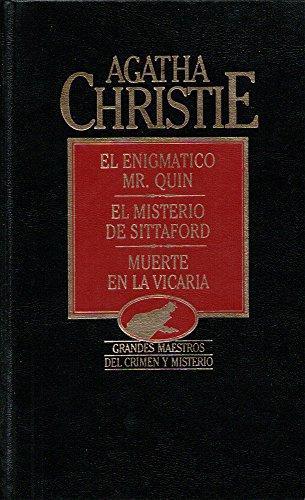 9788475309842: Obras completas 5: El enigmatico Mr. Quin, El misterio de Sittaford, Muerte en la vicaria