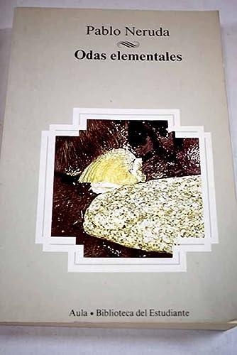9788475512617: Odas Elementales