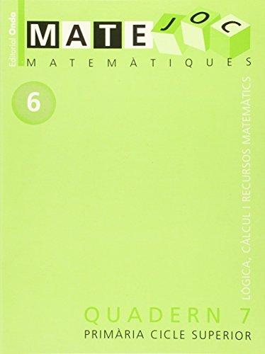 9788475528182: Matejoc 6 quadern 7
