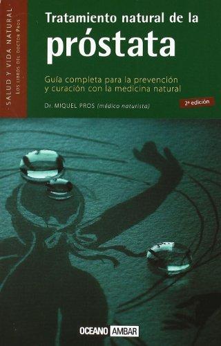 9788475561066: Tratamiento natural de la próstata (Salud y vida natural)