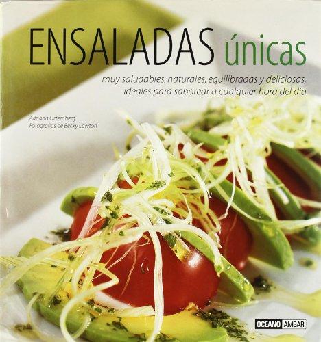 9788475562810: Ensaladas unicas (Cocina Natural) (Spanish Edition)