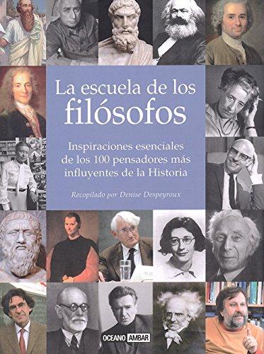 9788475565491: La escuela de los filosofos (Antologias) (Spanish Edition)