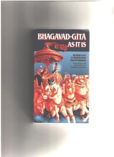 9788475600116: Bhagavad-Gita As It Is