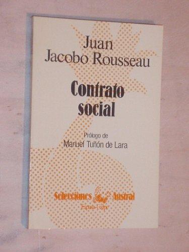 El contrato social: Rousseau, Jean-Jacques