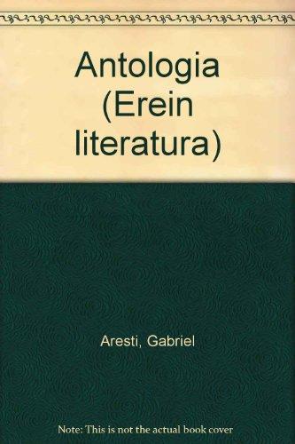 9788475682341: Antologia (Erein literatura)