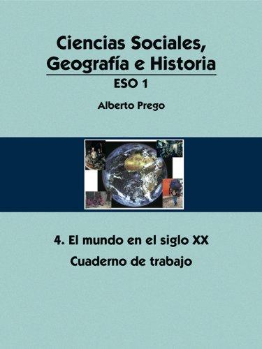 9788475685786: Ciencias Sociales, Geografía e Historia 1º ESO. Cuadernos de trabajo (azules)