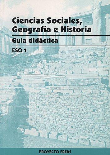 9788475686370: Ciencias Sociales, Geografía e Historia 1º ESO Guía del profesor