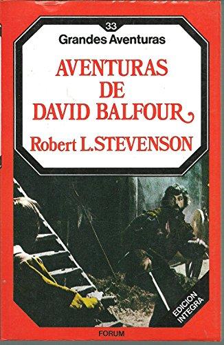9788475743929: Aventuras de David Balfour