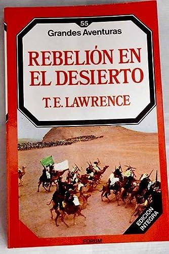 9788475744421: Rebelion En El Desierto