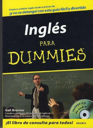 9788475772431: Ingles Para Dummies +Cd. Empiece Hablar Ingles Desde El Primer Dia