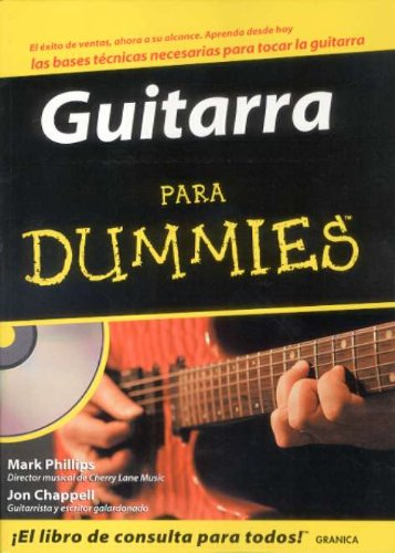 9788475774237: Guitarra para dummies (+CD)