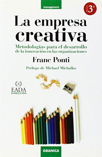 LA EMPRESA CREATIVA. Metodologias para el desarrollo: PONTI, FRANC