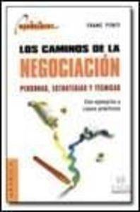 9788475779140: Caminos de la negociacion, los