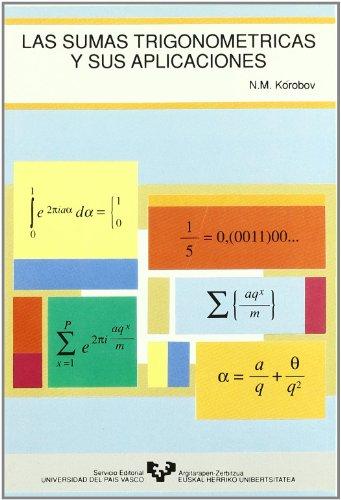 9788475854281: Las sumas trigonométricas y sus aplicaciones
