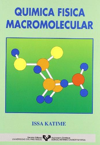 9788475855837: Química física macromolecular