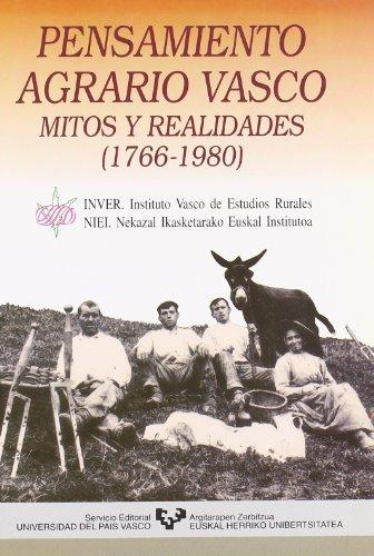9788475856483: Pensamiento agrario vasco: Mitos y realidades, 1766-1980 (Spanish Edition)
