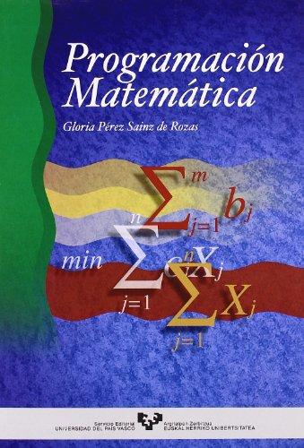 9788475858791: Programación matemática