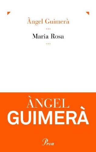 9788475882307: Maria Rosa (PROA-TNC)