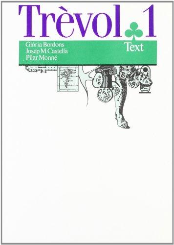 9788475961637: Trèvol 1: Text