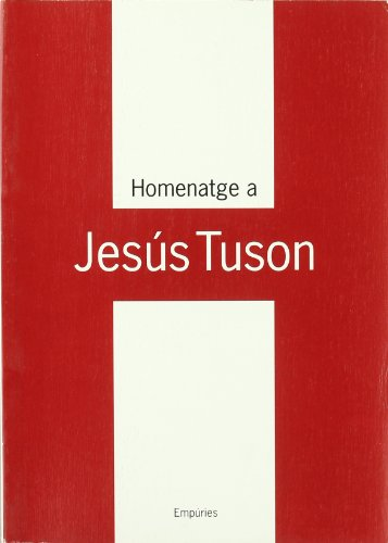 9788475967004: Homenatge a Jesús Tuson (LLIBRES SINGULARS)