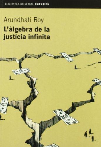 9788475969749: L'àlgebra de la justícia infinita