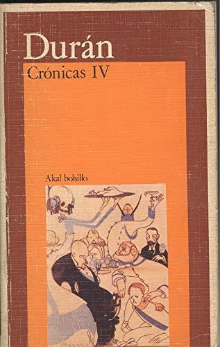 9788476000991: Crónicas IV. (Bolsillo)