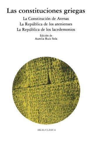 9788476001660: Las constituciones griegas (Clásica)