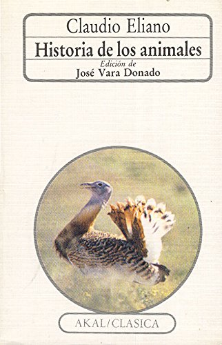 9788476003541: Historia de los animales / History of Animals (Clasica) (Spanish Edition)