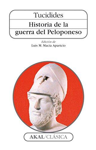 9788476003565: Historia de la guerra del Peloponeso (Clásica)