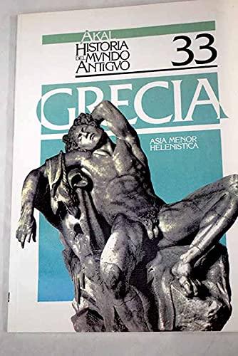 9788476004357: Asia Menor Helenistica (Spanish Edition)