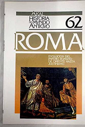9788476006580: evolucion_del_imperio_romano_de_oriente_hasta_justiniano__historia_del_mundo_antiguo_n_62_