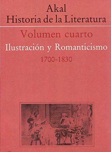 9788476006849: 4: Historia de la literatura IV