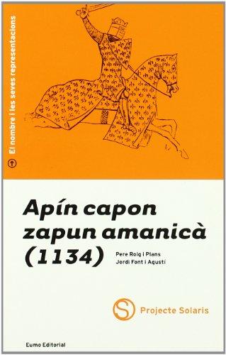 Apín capon zapun amanicà (1134): Roig i Plans,