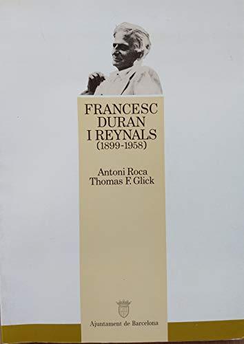 9788476091005: Francesc Duran i Reynals (1899-1958): Un investigador català de projecció internacional (Col..lecció Gent de la Casa Gran)