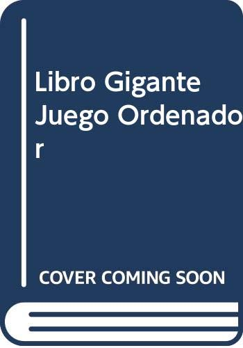 9788476140024: Libro Gigante Juego Ordenador