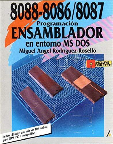9788476141281: 8088/8086/8087 prog.ensa