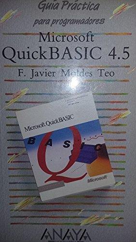 Microsoft QuickBasic 4.5: F.Javier Moldes Teo