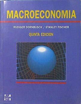 Macroeconomía: Dornbusch, Rudiger y