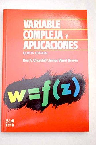 9788476157305: Variable Compleja y Aplicaciones - Quinta Edicion (Spanish Edition)