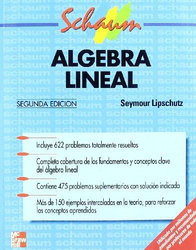 9788476157589: Algebra Lineal (Spanish Edition)
