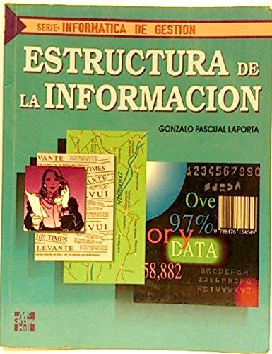 9788476158500: Estructura de La Informacion (Spanish Edition)