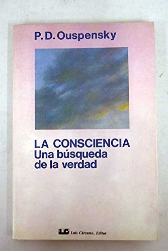 9788476270356: CONSCIENCIA, LA