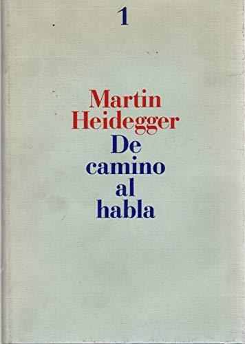 9788476280294: DE CAMINO AL HABLA