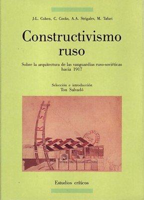 9788476281178: Constructivismo Ruso