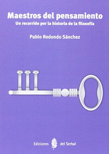 9788476287491: Maestros del pensamiento (Biblionauta)