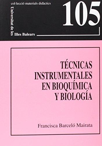Técnicas instrumentales en bioquímica y biología (Materials