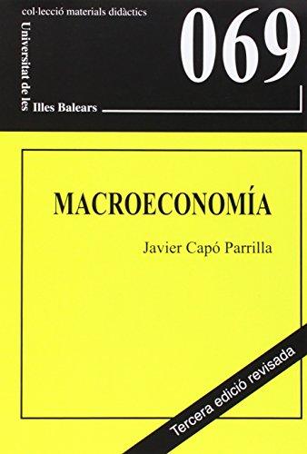 9788476328729: Macroeconomia (Materials didàctics)