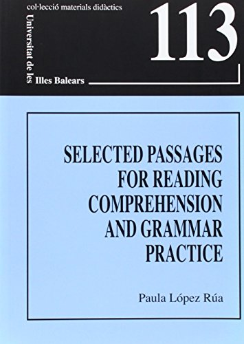 9788476329368: Selected passages for reading comprehension and grammar practice (Materials didàctics)